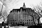 Sask Prints - the delta bessborough hotel downtown Saskatoon Saskatchewan Canada Print by Joe Fox