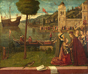 Famous Artists - The Departure of Ceyx by Vittore Carpaccio