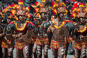 The Dinagyang Festival Philippines 15 Print by Justin James Wright