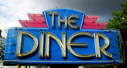 Charlotte Photo Posters - The Diner Poster by Randall Weidner
