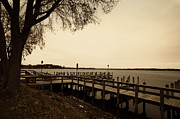 Mn Framed Prints - The Docks on Lake Minnetonka Framed Print by Susan Stone