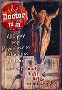 Animal Painting Posters - The Doctor is In Poster by JQ Licensing