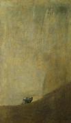 The Dog Print by Goya