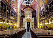 Synagogue Photo Originals - The Dohany Street Synagogue Budapest by Ira Shander