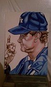 Ny Yankees Paintings - The Dons Call by Lynde Washington