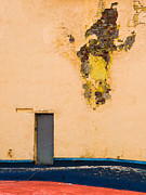 Blue Brick Prints - The Door - Featured 2 Print by Alexander Senin