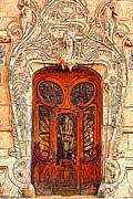 The Door Print by Jack Zulli