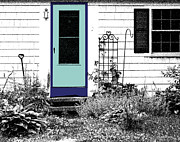The  White House Digital Art - The Door by Michelle Wiarda