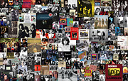 Taylan Soyturk Posters - The Doors Collage Poster by Taylan Soyturk
