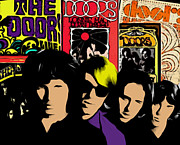Jim Morrison Prints - The Doors Print by Glenn Cotler