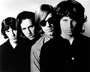 Doors Metal Prints - The Doors Poster Metal Print by Sanely Great