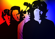 Jim Morrison Paintings - The Doors by Stefan Kuhn