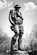 Doughboy Metal Prints - The Doughboy - Tribute to the American Expeditionary Forces of World War 1 Metal Print by Gary Heller