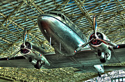 Dc-3 Posters - The Douglas DC-3 Airplane Poster by David Patterson