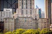Exterior Prints - The Drake Hotel in Downtown Chicago Print by Paul Velgos