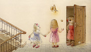 Prairie Dog Drawings Originals - The Dream Cat 18 by Kestutis Kasparavicius