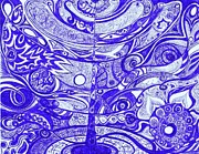 Abstract Drawings - The Dream of Sol by Ty DAvila