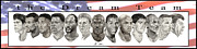Nba Painting Prints - the Dream Team Print by Tamir Barkan
