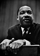 Martin Luther King Jr Photo Prints - The Dreamer Print by Benjamin Yeager