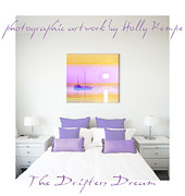 Wall Digital Art Prints - The Drifters Dream Wall Art Print by Holly Kempe