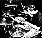 Drummer Art - The Drummer by Chris Berry