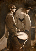 Battle Of Gettysburg Digital Art Posters - The Drummer Poster by Lori Deiter