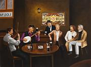 The Dubliners Luke Sings. Print by Michael Geoghegan
