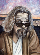 The Dude Painting Posters - The Dude Poster by James Kruse