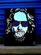 Jeff Mixed Media - The Dude by Tom Runkle