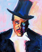 Leaders Painting Originals - The Duke by Les Leffingwell