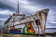 Abandoned Posters - The Duke of Lancaster Poster by Adrian Evans