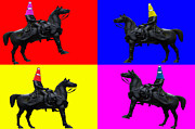Colorful Art Photos - The Duke of Wellington by John Farnan