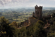 Vineyards Photo Originals - The Duomo of SantAssunta by William Fields