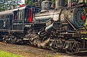 Wv Locomotive Photos - The Durbin Rocket 2 by Steve Harrington