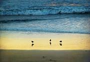 The Early Birds Print by Ellen Cotton