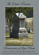 Sympathy Metal Prints - The Easter Promise monument card Metal Print by Andrew Govan Dantzler