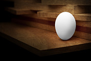 Hunger Posters - The Egg Poster by Tom Mc Nemar