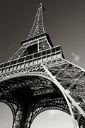 Brochure Framed Prints - The Eiffel Tower Framed Print by Ron Sumners