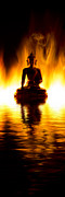 Buddha Photo Posters - The Elemental Buddha Poster by Tim Gainey