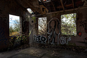 Abandoned Building Prints - The Elephant in the Room - Abandoned Building Print by Gary Heller