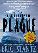 Book Jacket Design Art - The Eleventh Plague bookcover by Mike Nellums