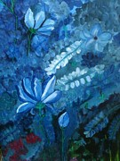 Faye Silliman - The Elusive Blue Flower