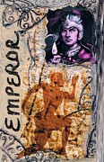 Archaeology Mixed Media - The Emperor by Teca Burq-Art