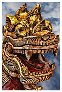 Chinese Art Photo Acrylic Prints - The Emperors Dragon Acrylic Print by Lee Dos Santos