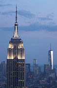 Gregory Dyer - The Empire State Building in New York City at night
