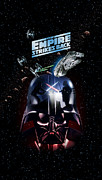 Darth Digital Art - The Empire Strikes Back by Edward Draganski