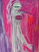 Featured Pastels Prints - The Emptiness of Being a Ghost  Print by Quentin H Willis