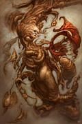 The Emulsifying Mermaid  Print by Ethan Harris