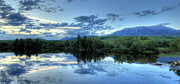 Mount Katahdin Prints - The End is Near Print by Lori Deiter