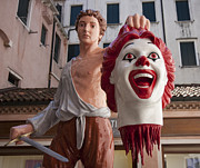 Ronald Mcdonald Art - The end of Ronald McDonald by Nathan Rupert